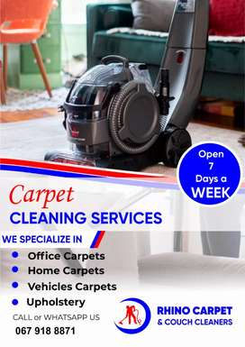 CARPET, MATTRESS AND COUCH DEEP CLEANERS
