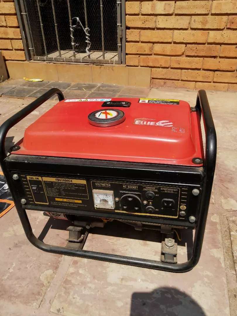 ELLIES generator and deep cycle battery 0