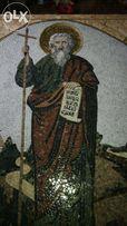 Iкони з мозаїки смальта золото