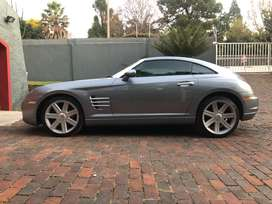 looking for Chrysler crossfire Grill, windscreen and passenger window