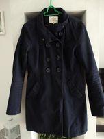 Granatowy płaszczyk kurtka House S