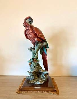 Giuseppe Armani Macaw Parrot Collectible Figurine
