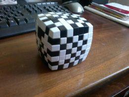 кубик рубик Головоломка 7x7. черно- белый цвет.