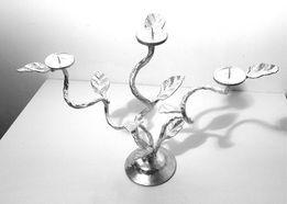 Подсвечник кованный на три свечи (1700руб)