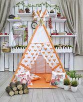 Шатер, шалаш, палатка, вигвам, игровой домик, подарок ребенку