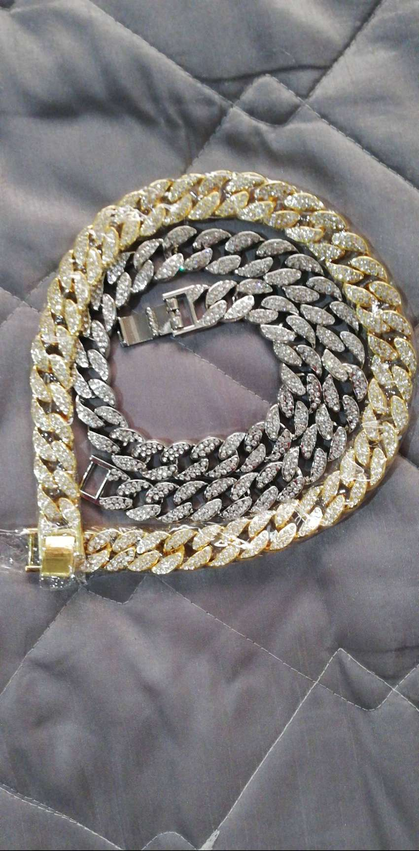 Cuban link chain and Watched