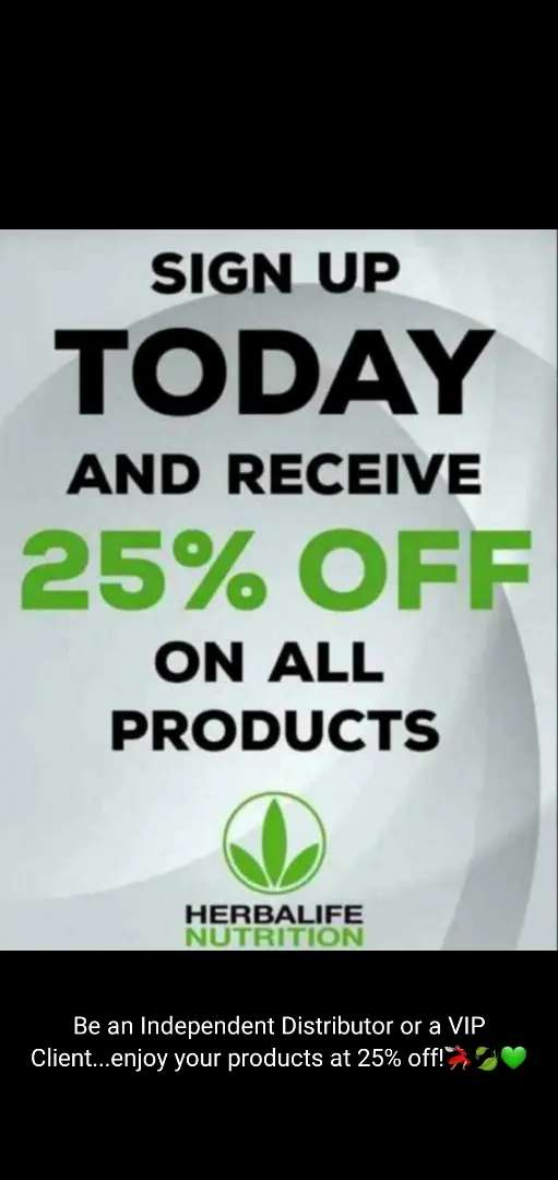 Herbalife Weight Loss, Gain & Muscle Build @ 25% Discount 0