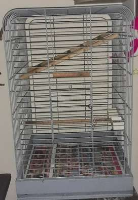 Grey cage for sale