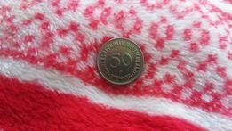 Stara moneta bundesrepublik deutschland pfennig 50 1950r.