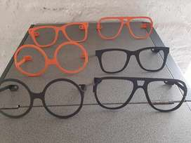 Wall mountable spectacle frames