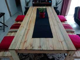 Brand New Custom Made Dining Room Table