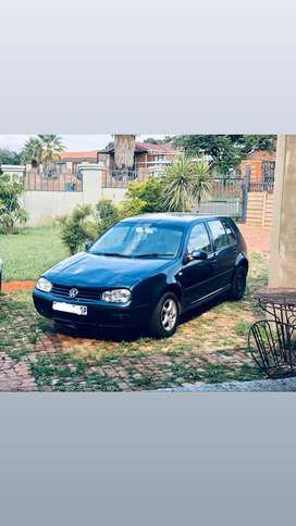 Price drop on 2002 Golf 4 1.6sr for sale