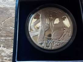 South africa proof 2005 vultures silver R2 coin