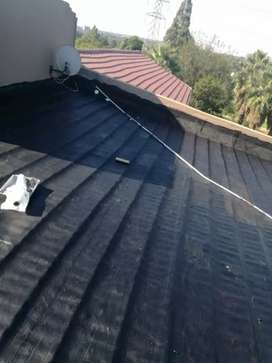 Water proofing and painting
