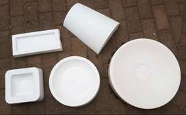 Glass slumping moulds for use in glass kiln