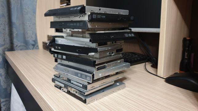 DVD DVD-RW для ноутбука IDE SATA лот 15шт