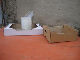 Ящик картонный для ягод и фруктов