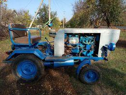 Продам самодельный мини трактор