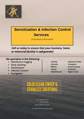 Thermal Disinfection Fogging and Deep cleaning