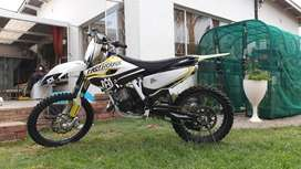 TC 125 With 150 Factory head and Piston