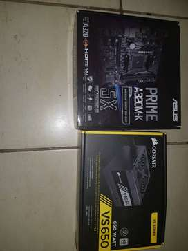 Gaming motherboard and Power supply