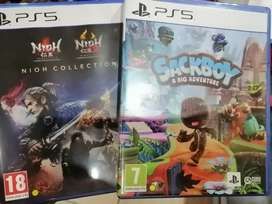 Playstation 5 games for sale both for R1200