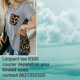 Leapord tee
