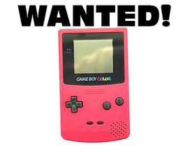 WANTED! Not Selling - Gameboy Colour
