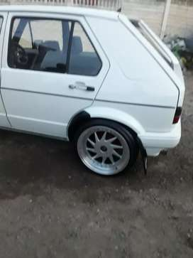 Oz turbo rims n tyres