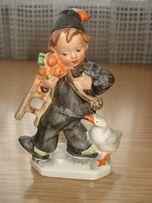 Статуэтка Мальчик с гусем Friedel Западная Германия