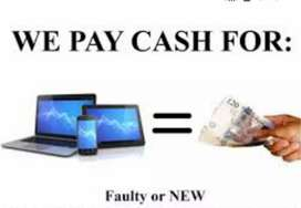We buy old laptops working or non- working for instant Cash