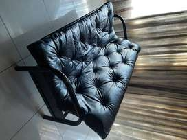 Black Leather Sleeper Couch
