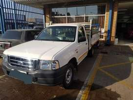 The bakkie is used has a new motor stared and go
