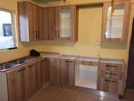 We deal with fitted kitchen units and wardrobe in all type of material