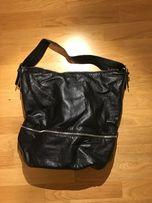 Сумка H&M, черная, вместительная