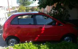 Red TATA INDICA VISTA 2010 MODEL very good condition