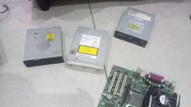 Dvd rom and dvd Wrighters +250w Power supply