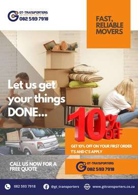 REMOVALS AND DELIVERIES FROM R200!!!