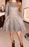 Jesienno-zimowa sukienka 36