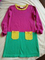 Теплое платье на 7 лет