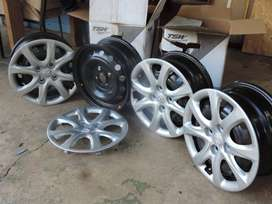Hyundai Accent Steel Rims 14 X 5.5""
