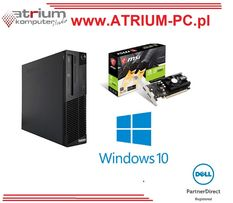 Komputer do gier i5 QUAD 8GB 240GB SSD GTX1050 2GB Win 10 PRO