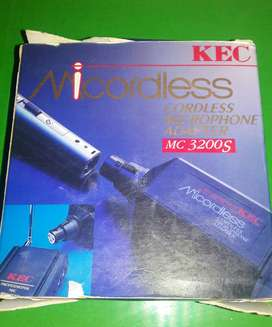 CORDLESS MICROPHONE ADAPTER