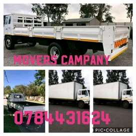 Truck for hire available