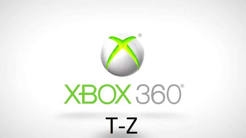 Xbox 360 Games for Sale T-Z 0