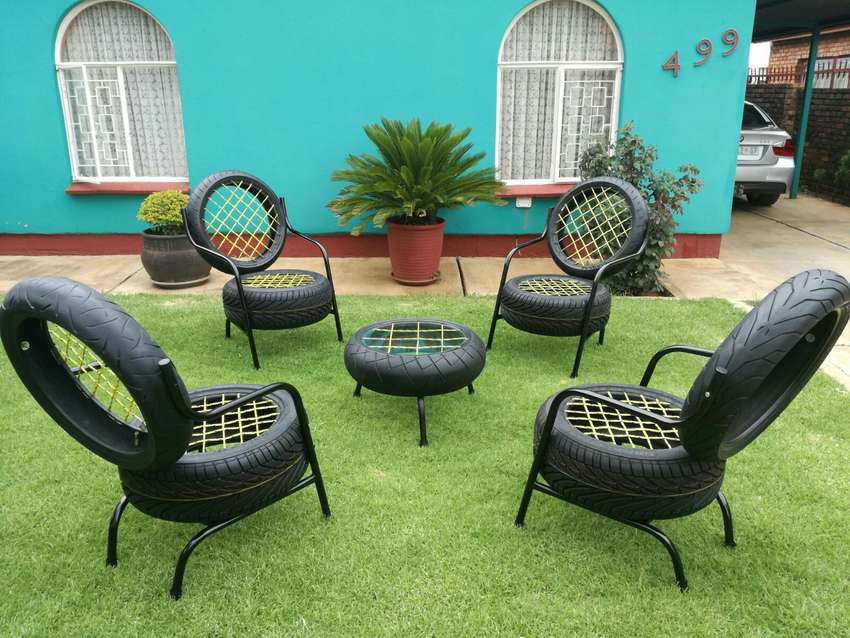 tyre chairs 0
