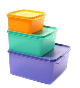 Tupperware  And Water Barrels Available
