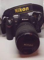 Фотоаппарат Nikon d90 + объектив + чехол Lowepro Nova140 AW