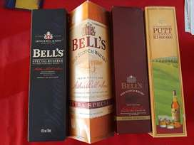 Bell's Whisky contaners