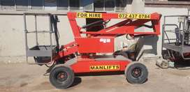 used niftylift self drive battery boom